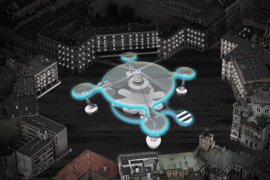 Łódź reklamuje zabawę sylwestrową