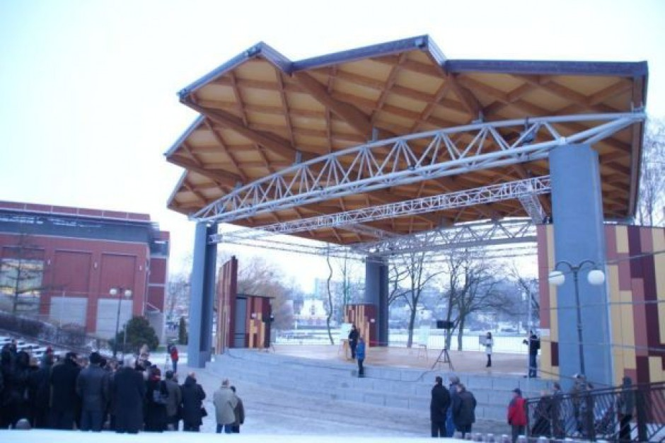 Otwarto amfiteatr w Iławie