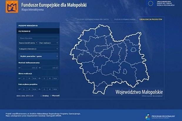 Małopolska mapa inwestycji