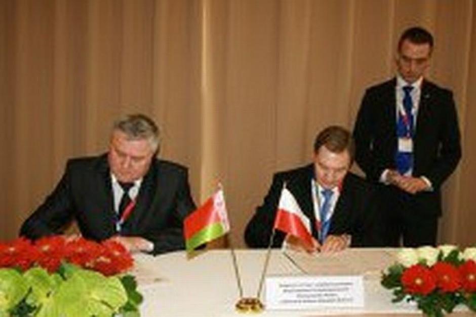 Zachodniopomorskie ma umowę z obwodem mińskim