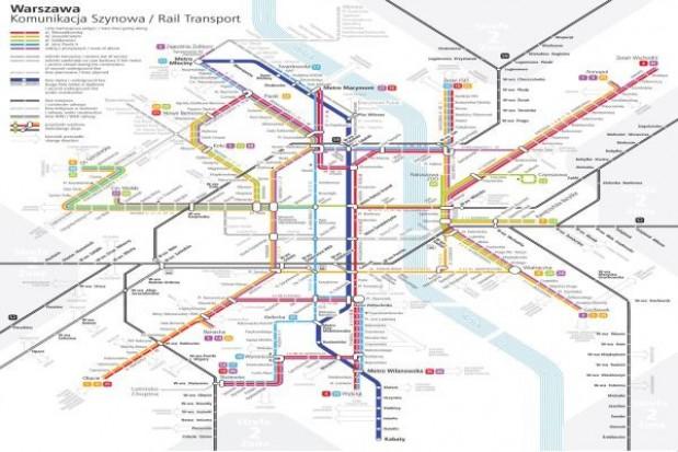 W stolicy rozdają mapki komunikacji