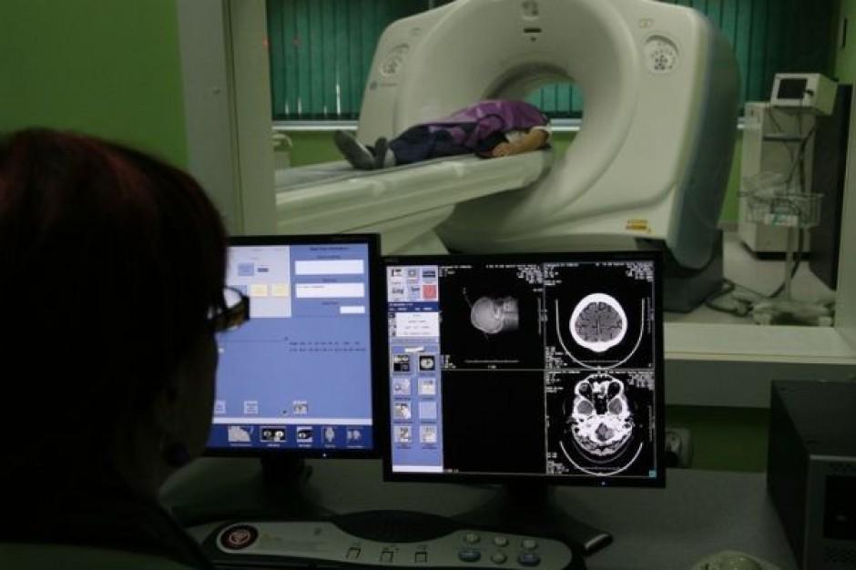 Tomograf dla aleksandrowskiego szpitala