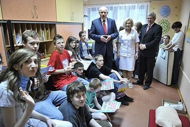 Dzień Dziecka w szpitalu w Radziszowie