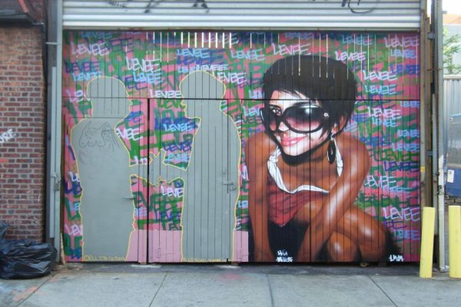 Graffiti na ulicach