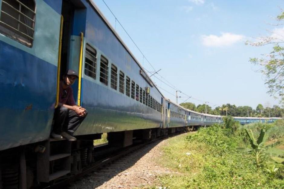 Opóźnienia pociągów  z powodu upałów