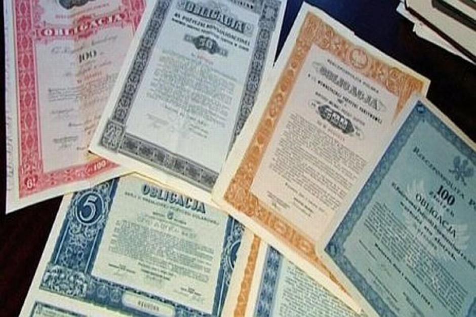 Samorządy wybierają obligacje