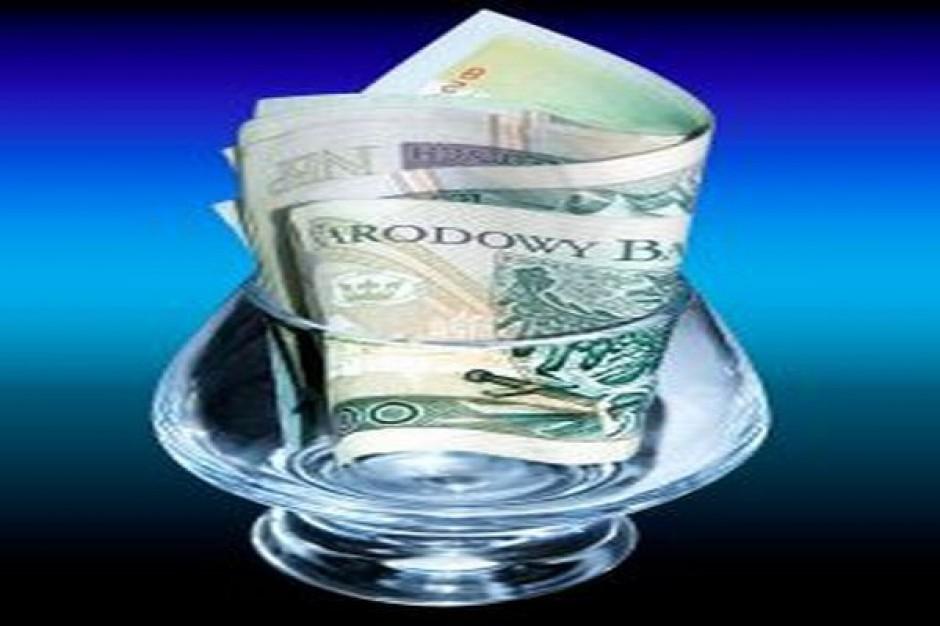 Kanalizacja dzięki Unii, kredytom i obligacjom