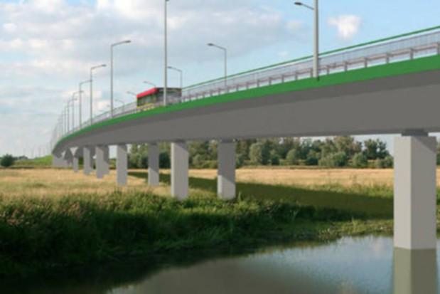 Nowy most na Odrze w Ciechanowie