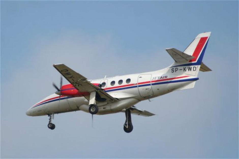 Samolotem z Łodzi do Winnicy