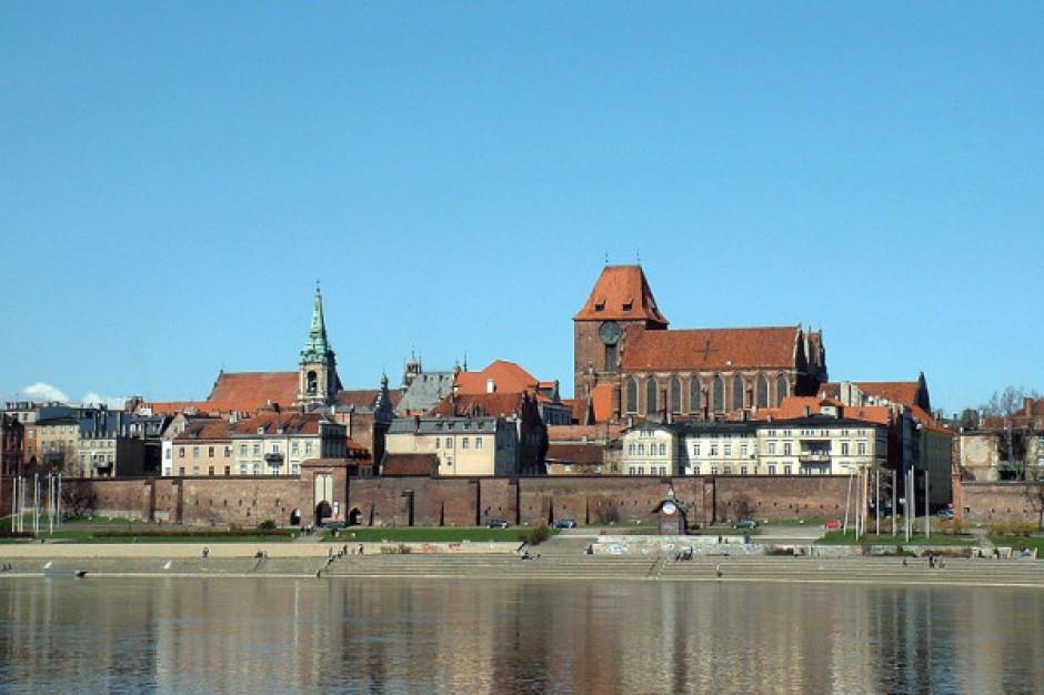 Pierwsza łopata pod budowę mostu w Toruniu