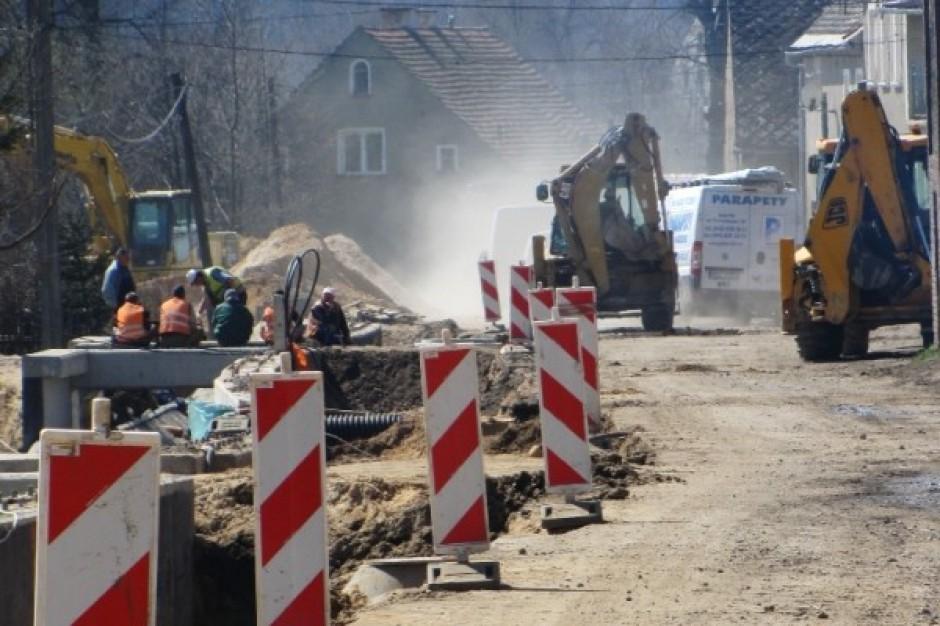 Koniec modernizacji drogi w Jabłowie