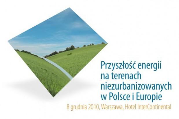Przyszłość energii na terenach niezurbanizowanych w Polsce i Europie