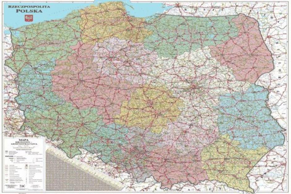 Zmiana nazw w aż 15 województwach