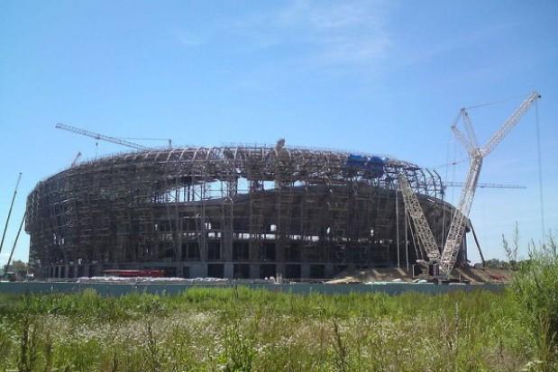 Budowa PGE Arena Gdańsk bez opóźnień