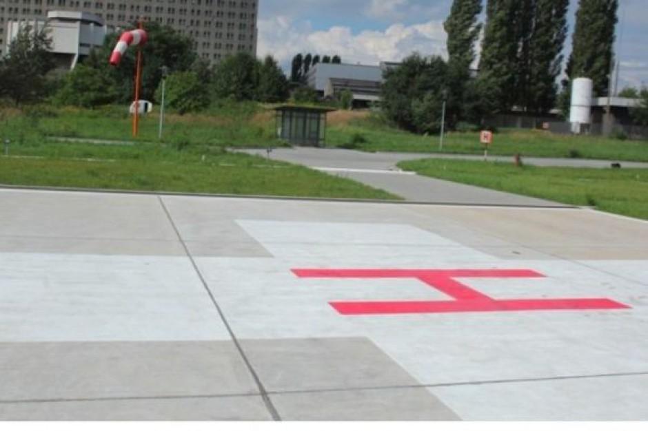 Krakowskie szpitale budują lądowiska