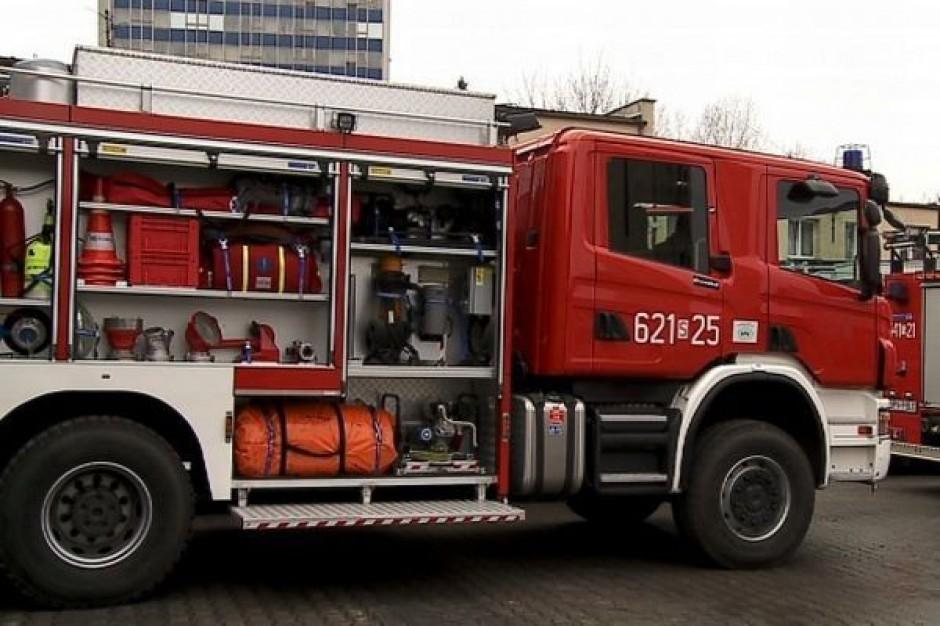 Nowy sprzęt dla śląskich strażaków