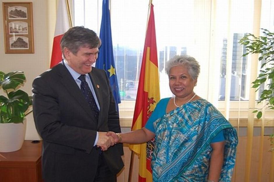 Ambasador Sri Lanki u marszałka