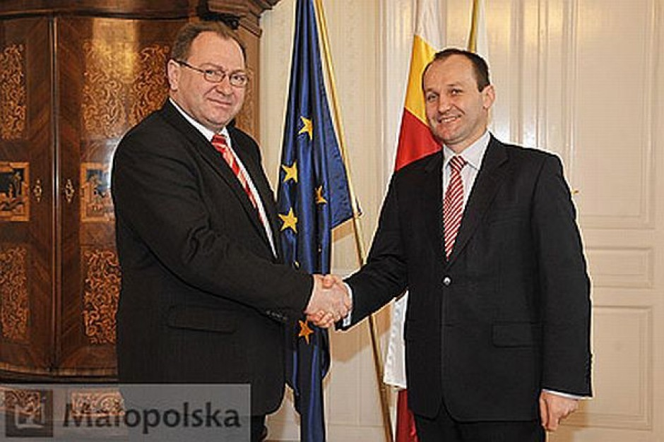Konsul Ukrainy z wizytą u marszałka