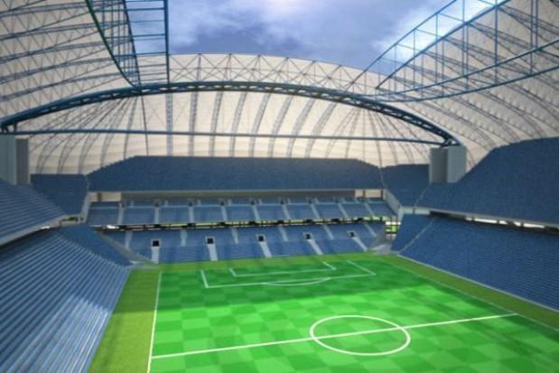 Tylko połowa stadionu Lecha z kibicami