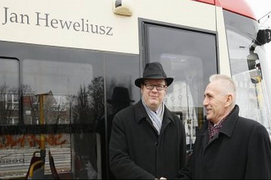 Jan Heweliusz na szynach