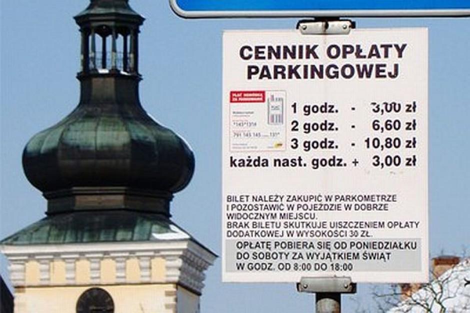 Obniżają opłaty za parkowanie