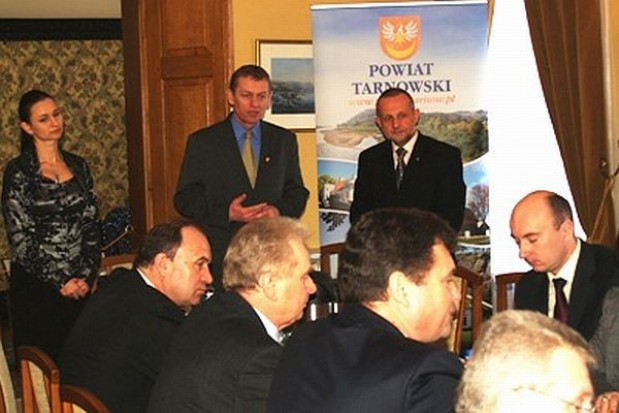 Spotkanie samorządowców powiatu tarnowskiego