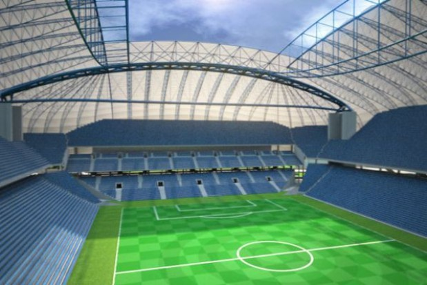 Stadion bez ochrony