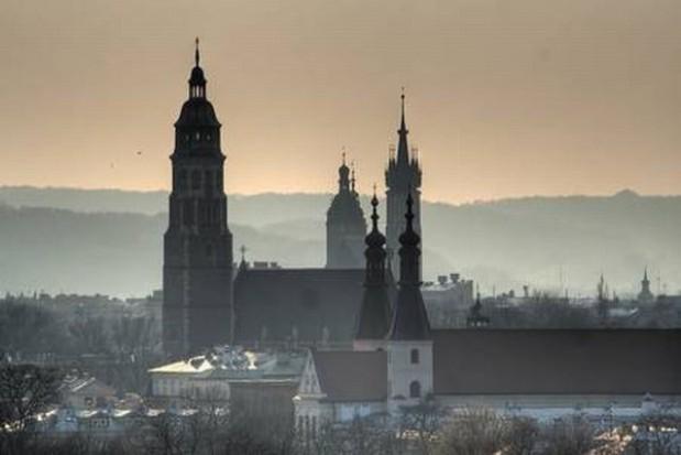 Kraków rośnie w górę