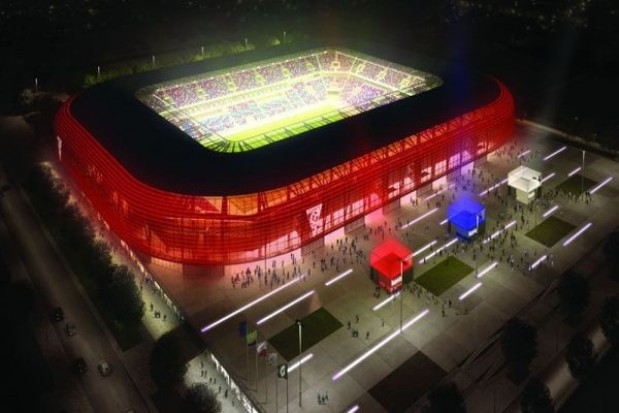 Stadion Górnika zabłyśnie