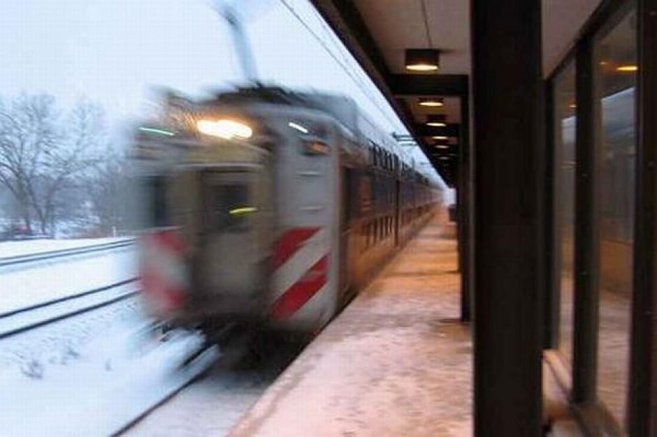 Otwarcie odnowionego peronu