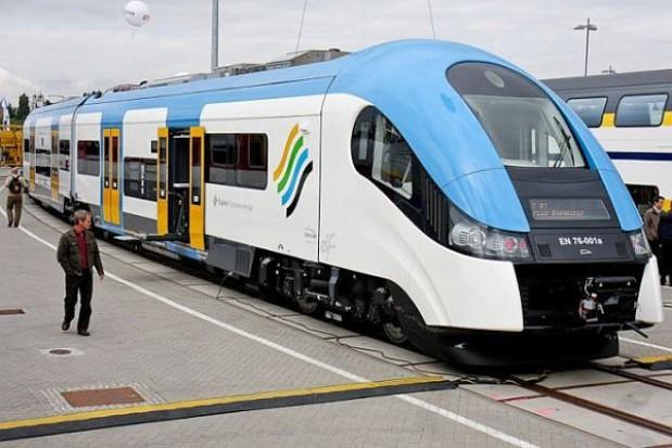 Pierwsze pociągi Elf na śląskich torach
