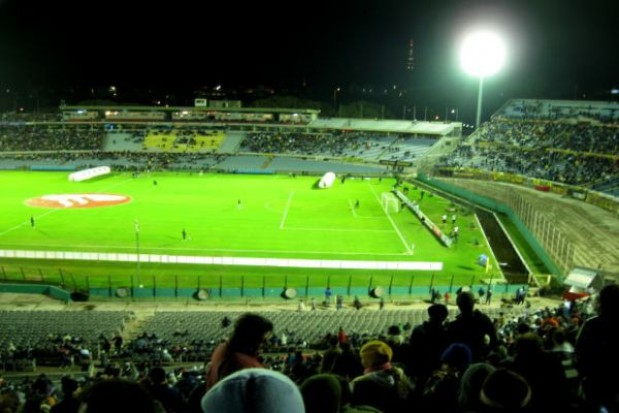 Poważne opóźnienia na białostockim stadionie