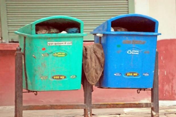 Gadające kosze na śmieci