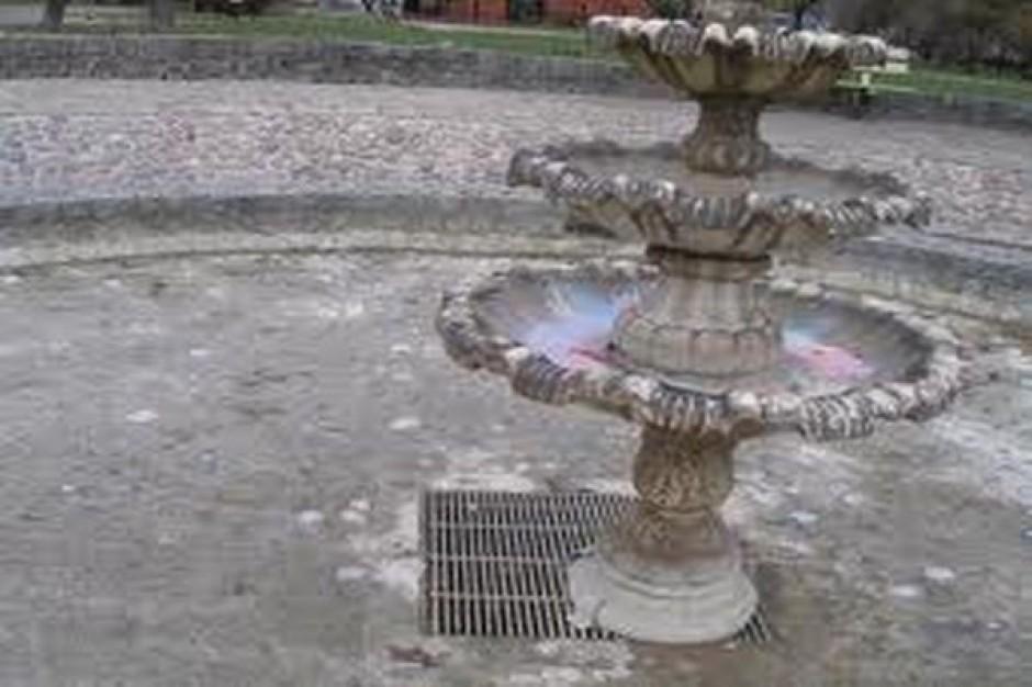 Będzie remont stawu i fontanny obok amfiteatru