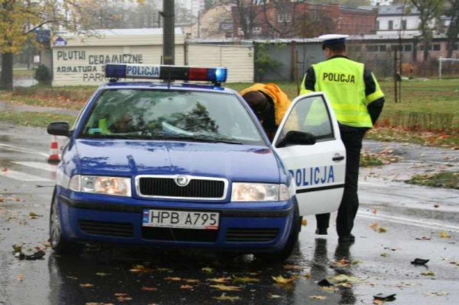 Cichy protest policjantów na Śląsku
