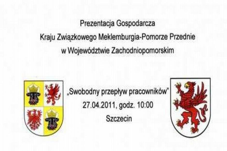 Prezentacja niemieckiego landu w Szczecinie