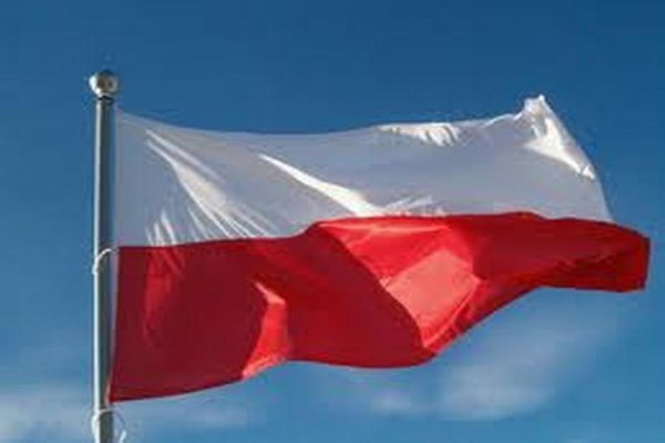 Akcja flaga na samochód w Tarnowie