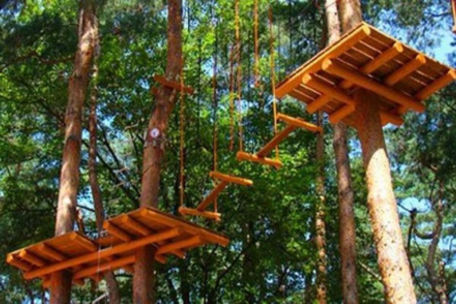 Otwarcie Parku Linowego w Krośnie