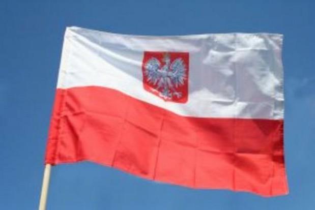 Zdjęcie mieszkańców Łodzi z okazji Dnia Flagi