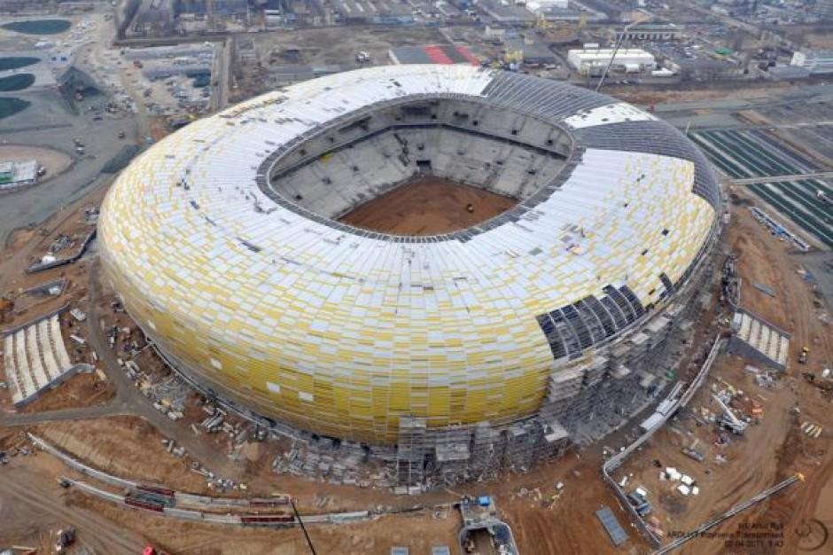 Stadion w Gdańsku będzie gotowy na czas