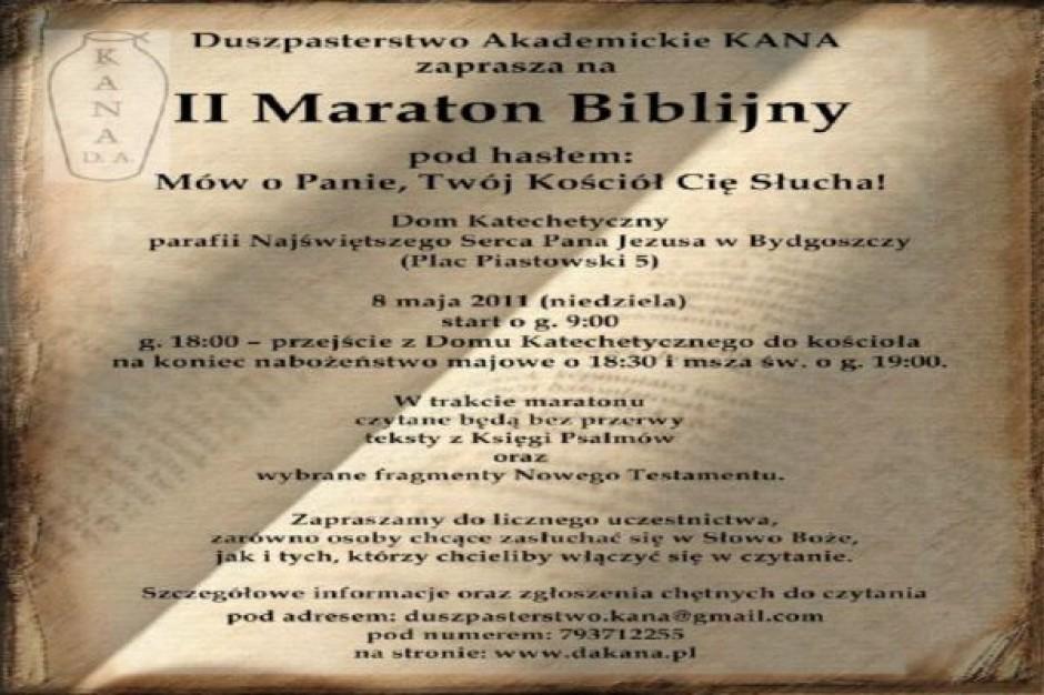 II Maraton biblijny w Bydgoszczy