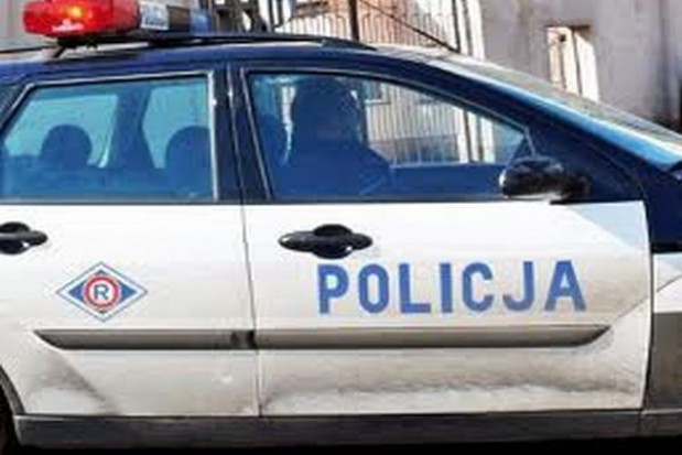 Policjanci za ladą