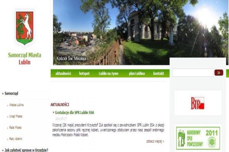 Lublin: portal wygodny, ale mało funkcjonalny