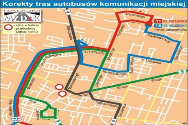 Remonty drogowe w Radomiu