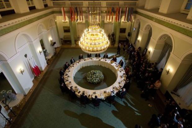Obama spotkał się z liderami polskich przemian