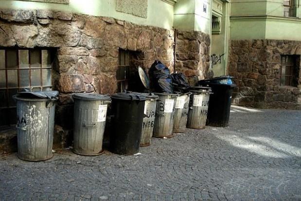 Trójki śmieciowe patrolują skwery