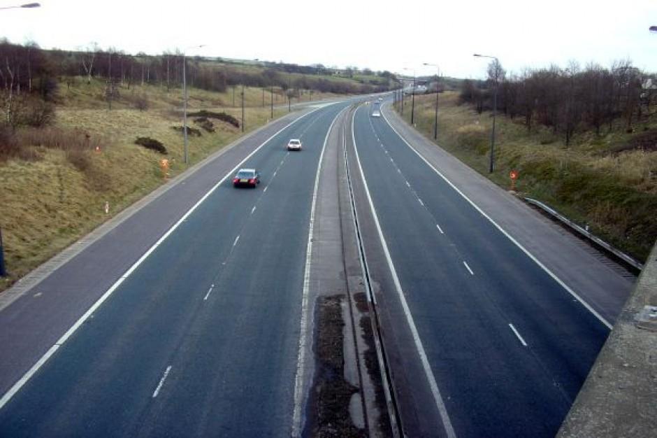 Trasa Sucharskiego w dalszej budowie