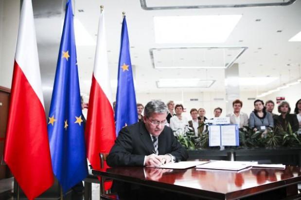Prezydent podpisał ustawę o SIO