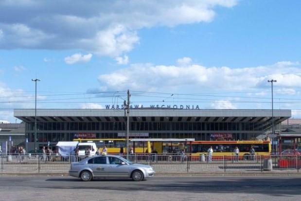Część dworca W-wa Wschodnia odnowiona