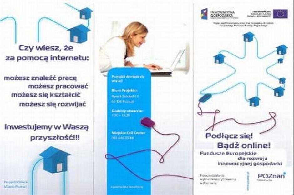 Walczą z wykluczeniem cyfrowym w Poznaniu